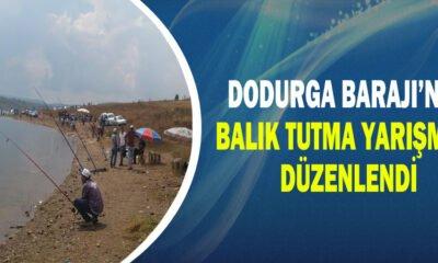Dodurga Barajı'nda Balık Tutma Yarışması Düzenlendi