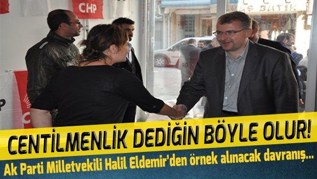 Ak Parti Milletvekili Halil Eldemir'den Örnek Alınacak Davranış