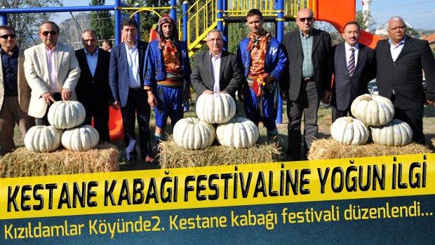 KESTANE KABAĞI FESTİVALİNE YOĞUN İLGİ GÖSTERİLDİ