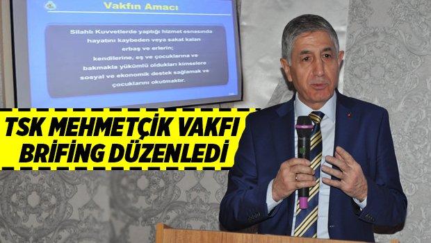 TSK Mehmetçik Vakfı Bursa Temsilciliği brifing düzenledi