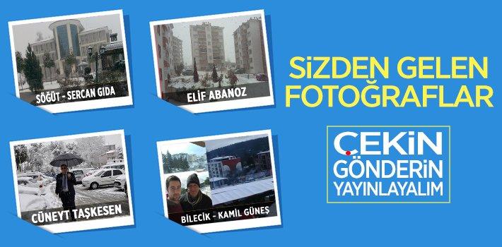 Kar fotoğraflarınızı gönderin yayınlayalım!