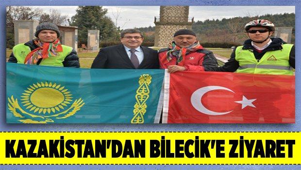 KAZAKİSTAN'DAN BİLECİK'E ZİYARET