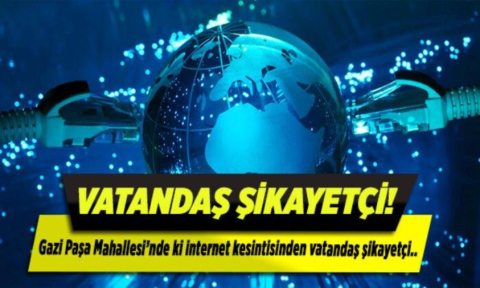 internet kesintisinden vatandaş şikayetçi!