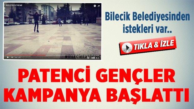 BAŞKAN YAĞCI'YA SESLERİNİ DUYURMAK İÇİN..