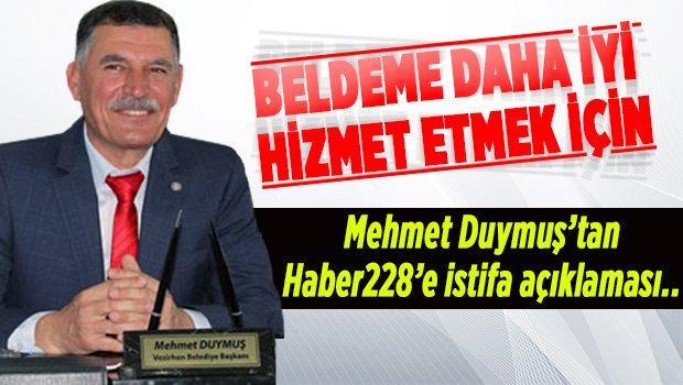 """""""BELDEME DAHA İYİ HİZMET ETMEK İÇİN.."""""""