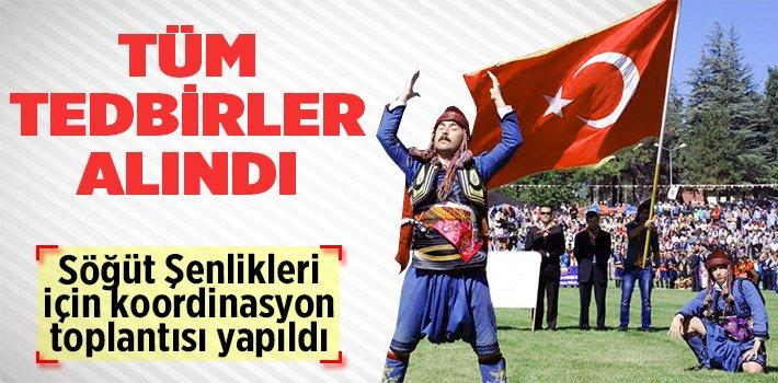 ERTUĞRUL GAZİ'Yİ ANMA VE SÖĞÜT ŞENLİKLERİ KOORDİNASYON TOPLANTISI