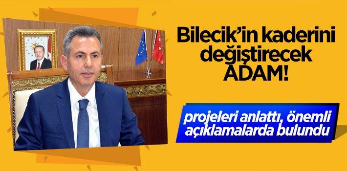 Bilecik'in kaderini değiştirecek ADAM önemli açıklamalarda bulundu!