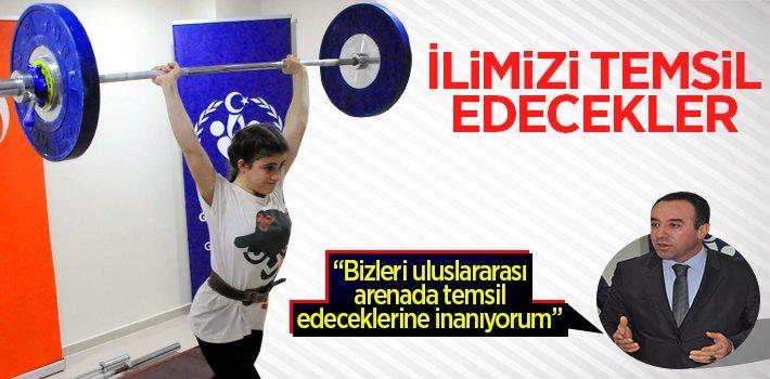 İLİMİZİ TEMSİL EDECEKLER!