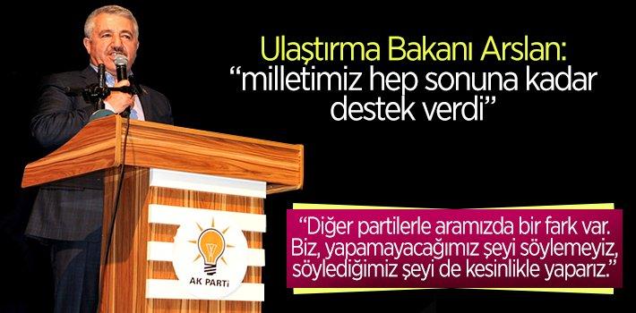 ULAŞTIRMA BAKANI AHMET ARSLAN BİLECİK'TEYDİ