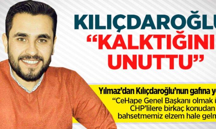 """Yılmaz: """"CHP'lilere anayasa değişikliğinin temelde değiştirdiği birkaç konudan bahsetmemiz elzem hale gelmiş"""""""