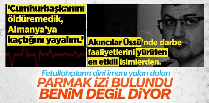 DARBECİ GENERAL PARMAK İZİNİ KABUL ETTİ