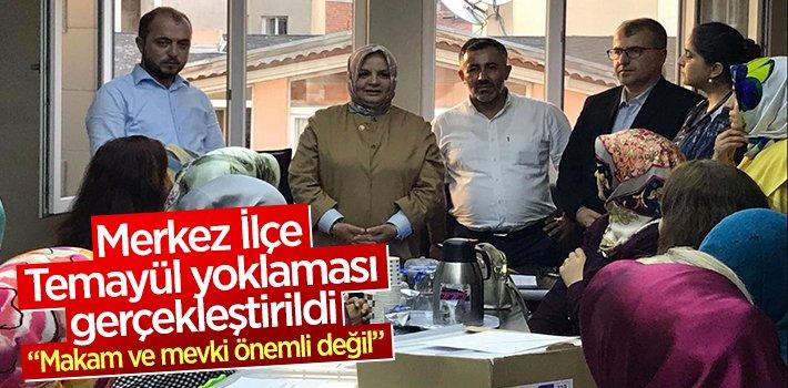 AK Parti Bilecik Merkez İlçe Başkanlığı temayül yoklaması gerçekleştirildi
