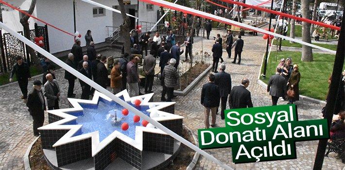 Şeyh Edebali Türbesi Sosyal Donatı Alanı açıldı