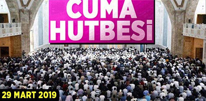 "29 Mart 2019 Cuma Hutbesi: ""MİRAÇ GECESİ"""