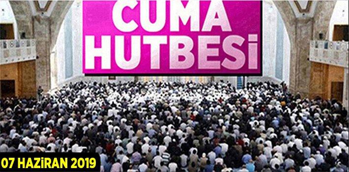 07 Haziran 2019 Cuma Hutbesi: AİLE OLMAK, AİLE KALMAK
