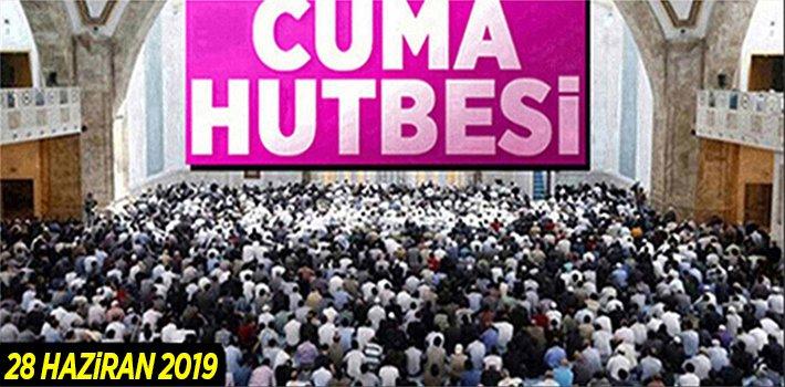 "28 Haziran 2019 Cuma Hutbesi: ""BİR MUKADDES YOLCULUK: HAC"""