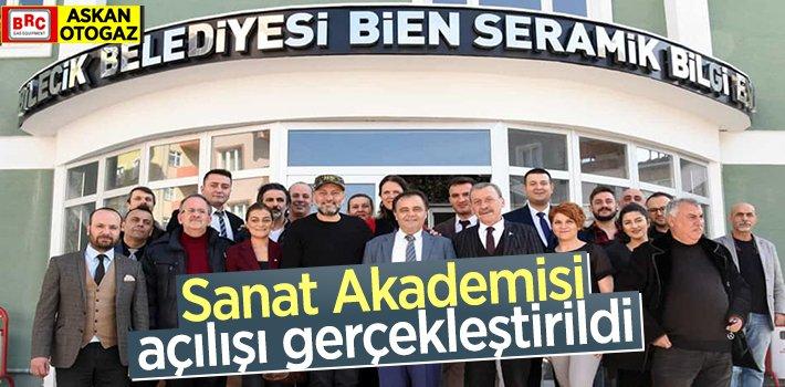 Bilecik Belediyesi Sanat Akademisi açılışı gerçekleştirildi.