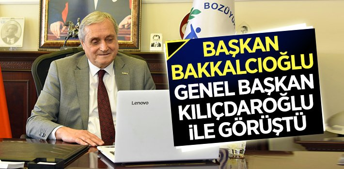 Başkan Bakkalcıoğlu, Kılıçdaroğlu ile görüştü