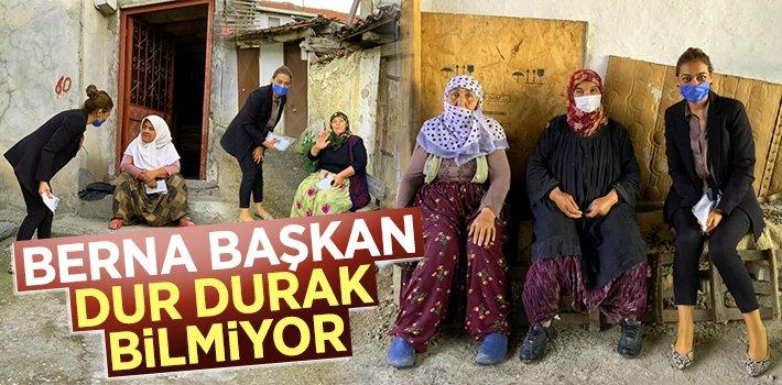BERNA BAŞKAN DUR DURAK BİLMİYOR!