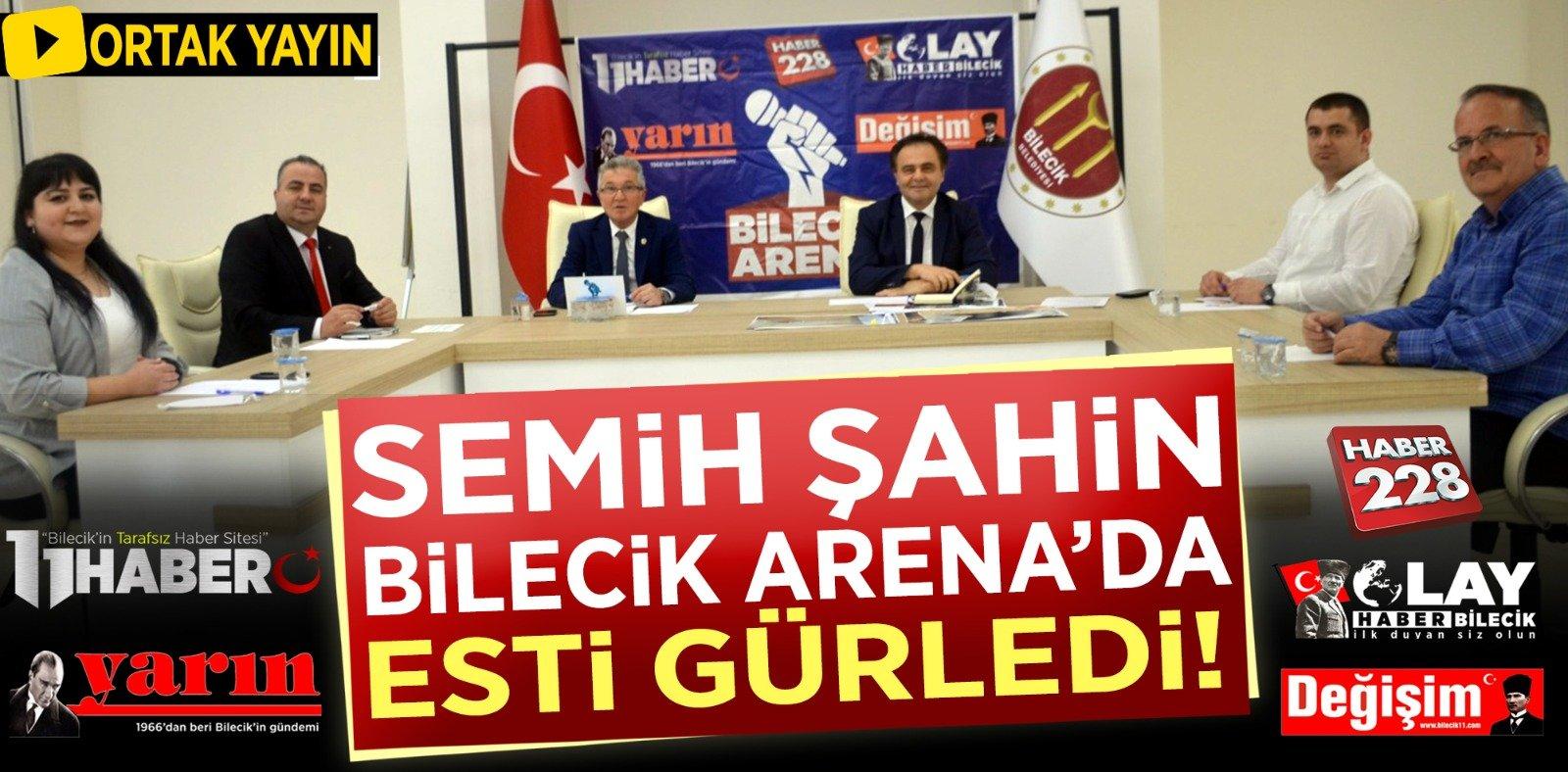 Semih Şahin Bilecik Arenada Esti Gürledi