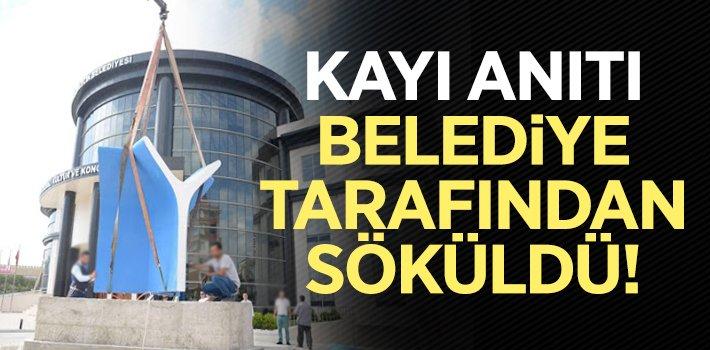 """""""KAYI ANITI"""" BİLECİK BELEDİYESİ TARAFINDAN SÖKÜLDÜ!"""