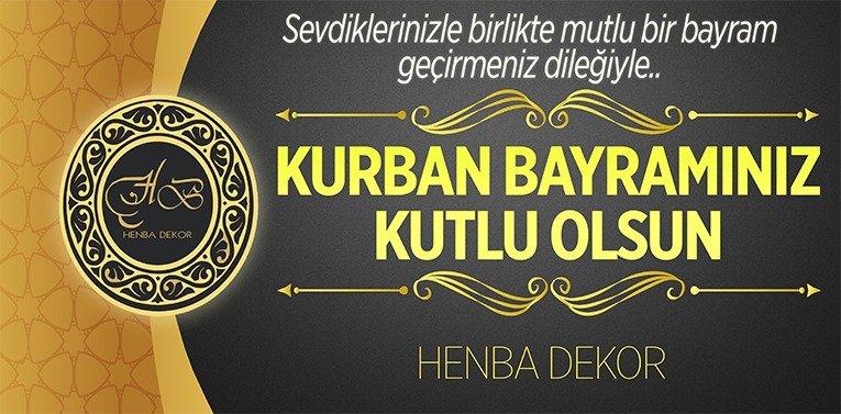 Henba Dekor'un Kurban Bayramı Mesajı