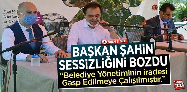 Bilecik Belediye Başkanı Semih Şahin Sessizliğini Bozdu