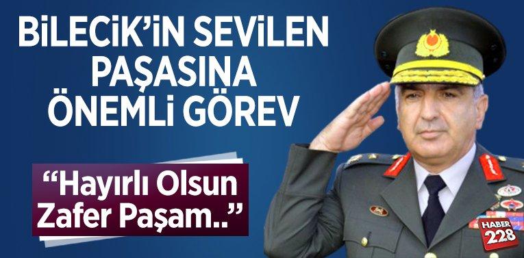 Bilecik'in Sevilen Paşasına Önemli Görev!
