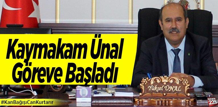 Osmaneli Kaymakamı Yüksel Ünal Göreve Başladı