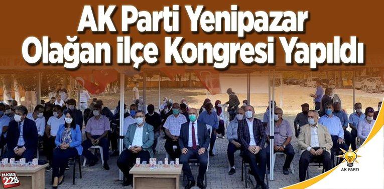 AK Parti Yenipazar Olağan İlçe Kongresi yapıldı