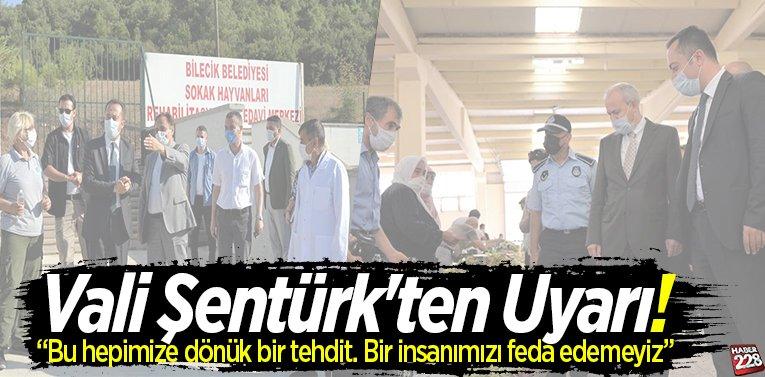 Vali Şentürk'ten Uyarı!