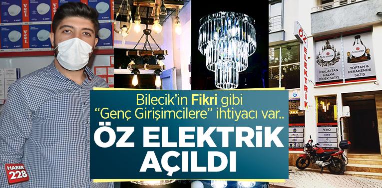 """""""Öz Elektrik"""" Bilecik'te Açıldı"""