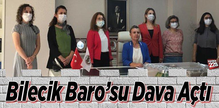 Bilecik Baro'su Dava Açtı