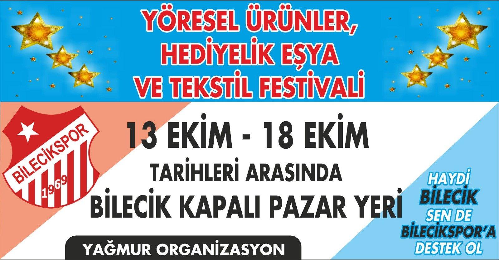 Bilecik Yöresel Ürünler, Hediyelik Eşya ve Tekstil Festivali