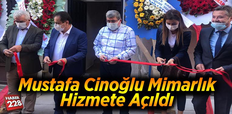 Mustafa Cinoğlu Mimarlık hizmete açıldı