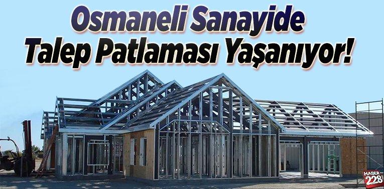 Osmaneli Sanayide Talep Patlaması Yaşanıyor