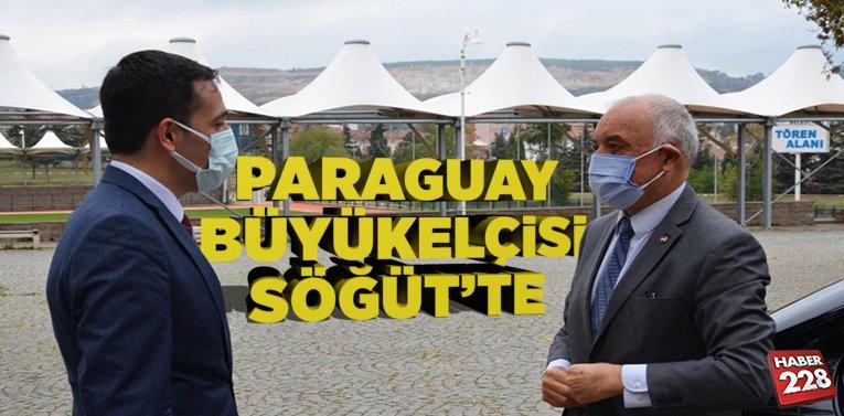 Paraguay Büyükelçisi Ceferino Valdez Peralta'dan Söğüt'e Ziyaret