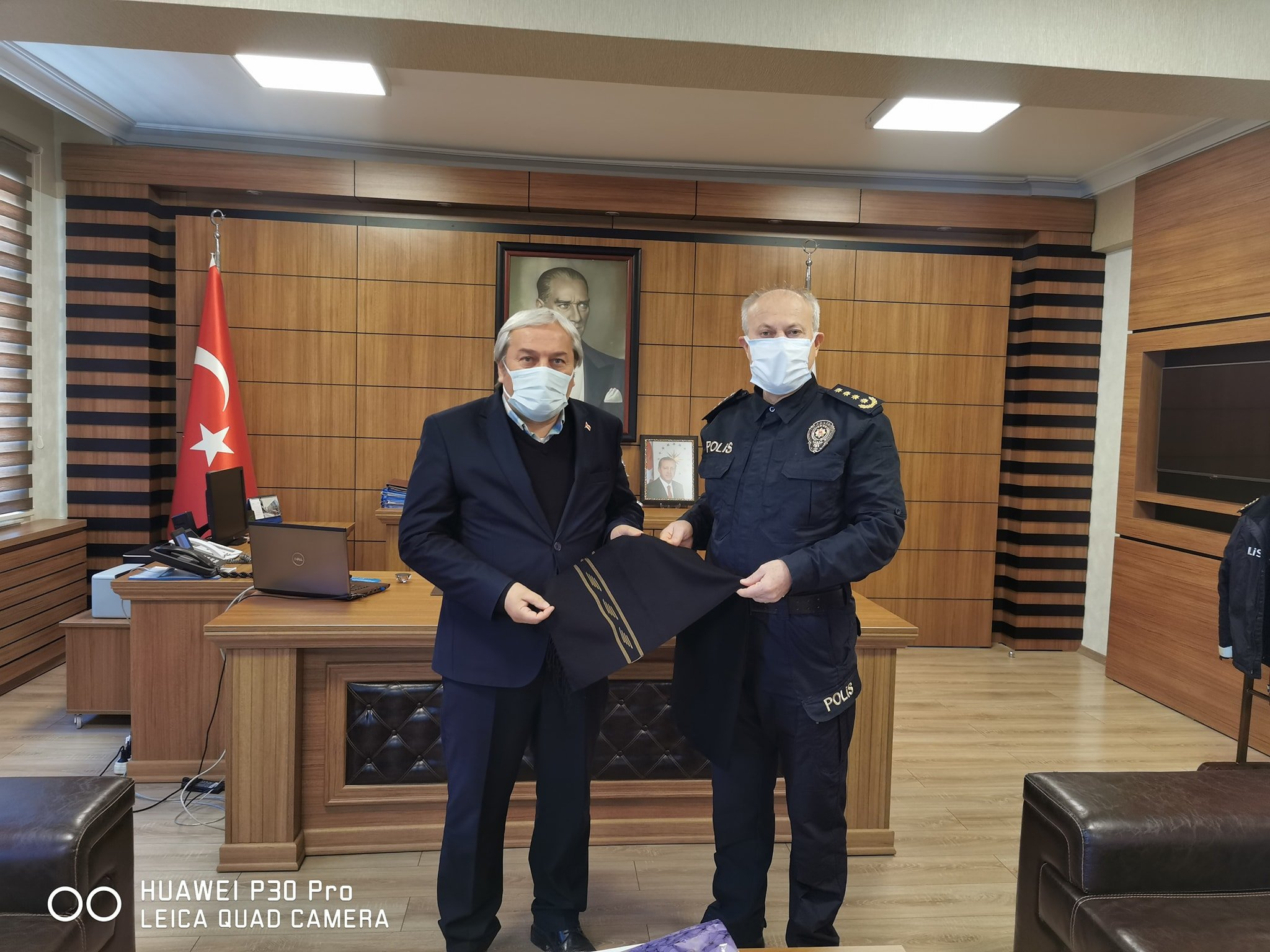 Başkan Şahin'den İl Emniyet Müdürü Namal'a Ziyaret
