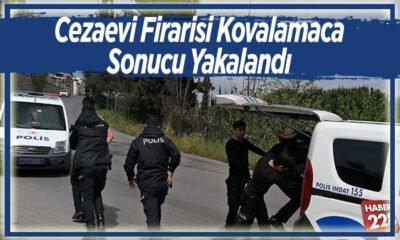 Cezaevi firarisi polis kovalamaca sonucu yakalandı