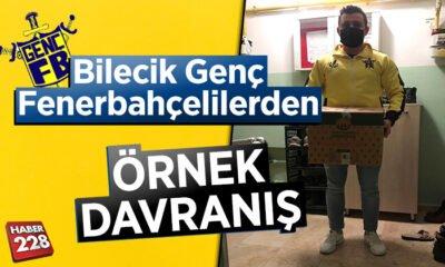 Bilecik Genç Fenerbahçelilerden örnek davranış