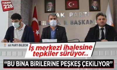 """AK Parti'den İhale açıklaması: """"Adrese teslim bir ihale"""""""