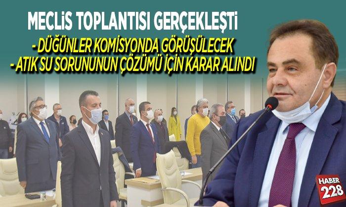 MECLİS TOPLANTISI GERÇEKLEŞTİ