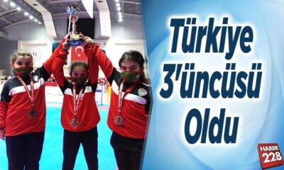 Türkiye 3'üncüsü oldu