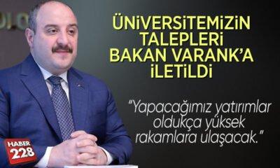 OSBÜK toplantısında Bakan Varank'a taleplerini ilettiler