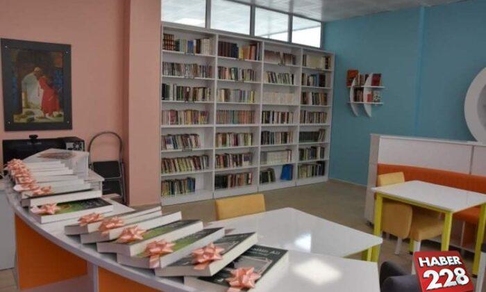Bilecik'te Lisede Z kütüphane açılışı yapıldı