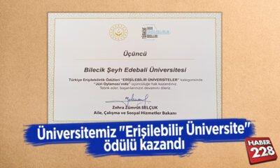 """Üniversitemiz """"Erişilebilir Üniversite"""" Ödülü Kazandı"""
